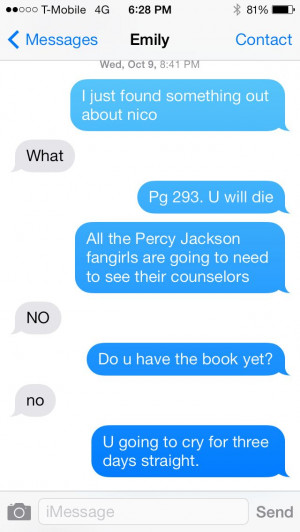 House Of Hades reaction (honestly i took the news about nico very ...