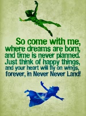 Peter Pan Quotes Never Grow Up Never grow up
