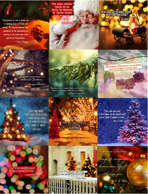 Free PLR: Christmas Quote Graphics – Great for Pinterest and ...