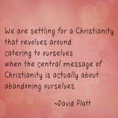 David Platt - author of Radical Follow us at http://gplus.to ...
