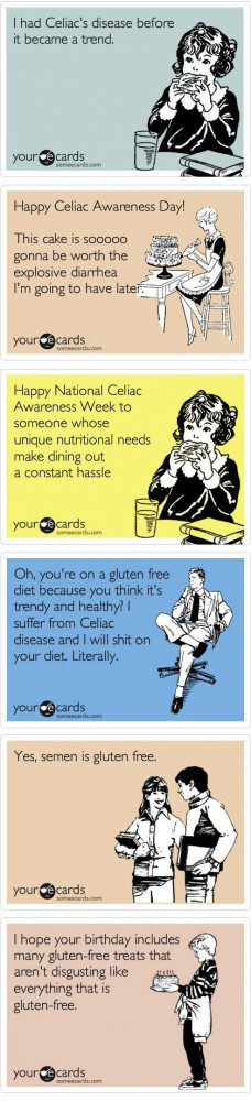 Funny gluten free ecards. Want more GF stuff? --> celiacglutenfreelife ...