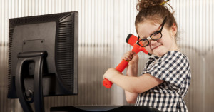 Destructive Behavior in children, child development