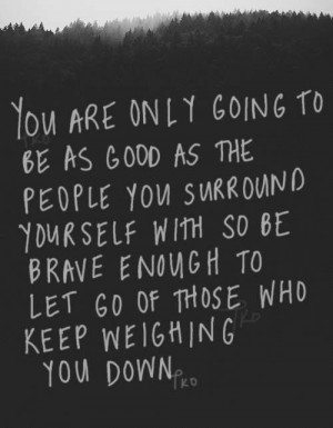 On Letting People Go