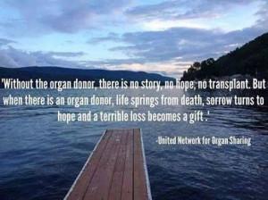 Without an Organ Donor quote..