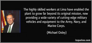 The highly skilled workers at Lima have enabled the plant to grow far ...