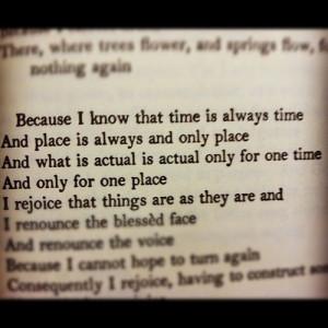 quotes ts eliot ash wednesday life motto
