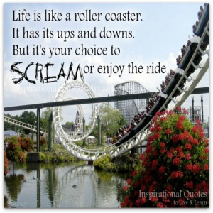 Enjoy the ride...