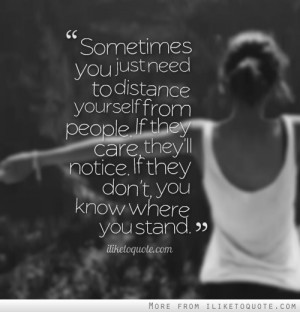 ... If they care, they'll notice. If they don't, you know where you stand