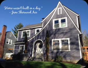 Home quote: building a radiant home