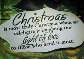 christmas a burden selfishness makes christmas a burden love makes