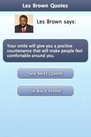 download this View Bigger Les Brown Quotes For Android Screenshot ...