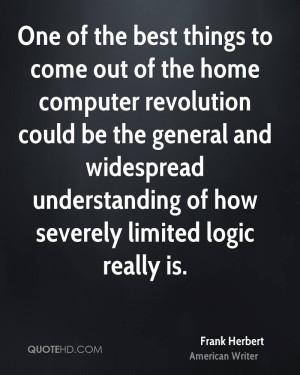 Frank Herbert Home Quotes