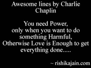 Charlie Chaplin,Love Quotes /power – Inspirational Pictures, Quotes ...