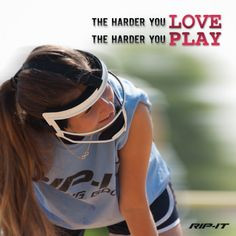 Softball players: The more you love the game, the better you will play ...