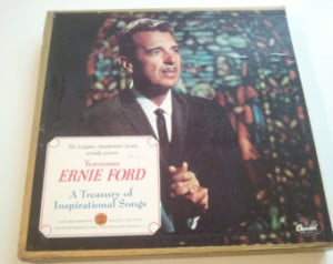 Tennessee Ernie Ford, A Treasury of Inspirational Songs, LP Record ...