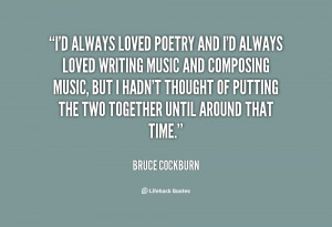 Writing Poetry and Quotes Together
