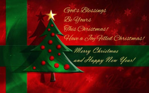 blessings be yours this christmas have a joy filled christmas