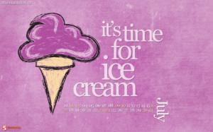 cream, ice, ice cream, purple, summer