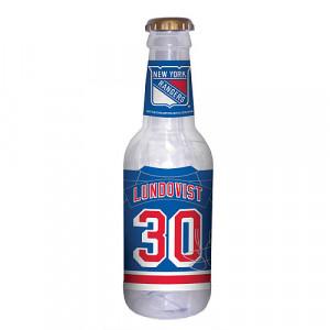 ... York Rangers Henrik Lundqvist Beer Bottle Coin Bank Mlb Shop picture
