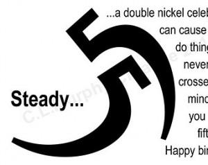 ... Birthday, Milestone Birthday, 55th Humor Birthday, 55th Birthday Card