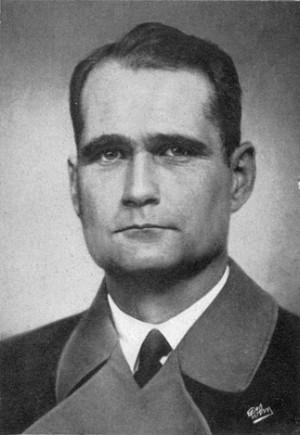Rudolf Hess Reichsminister rudolf hess