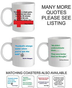 ... -MUG-COASTER-BRAZIL-2014-WORLD-FOOTBALL-CUP-FAMOUS-QUOTE-FUNNY-HUMOUR