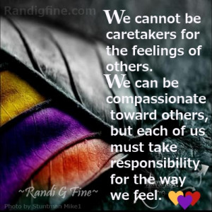 Words of Wisdom Quote for Codependents and Caretakers