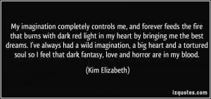 More Kim Elizabeth Quotes