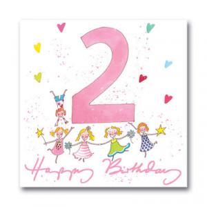 happy birthday 2nd birthday