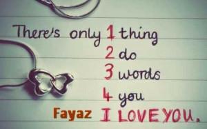 Just For u my hubby - I love my husband a lot I LOVE U FAYAZ's mobile