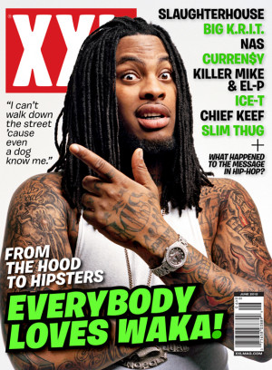 Bricksquad Monopoly CEO Waka Flocka Flame lands on the June 2012 issue ...