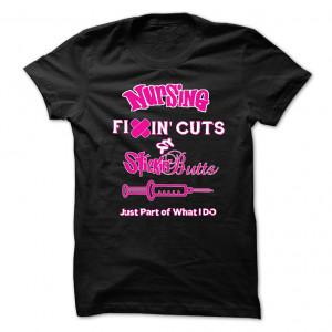 Funny nursing quotes T-Shirt