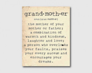 Grandmother Quotes ...