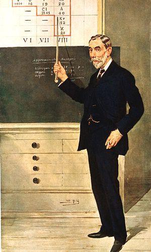 Sir William Ramsay. Photogravure in Vanity Fair by Sir Leslie Ward ...