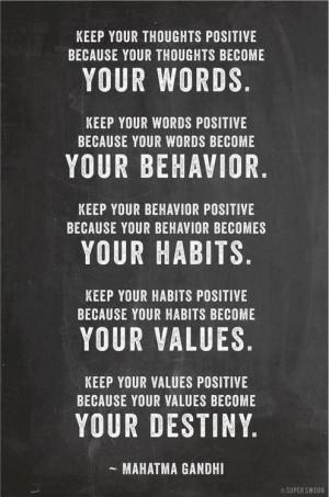 Great quote from Mahatma Gandhi.