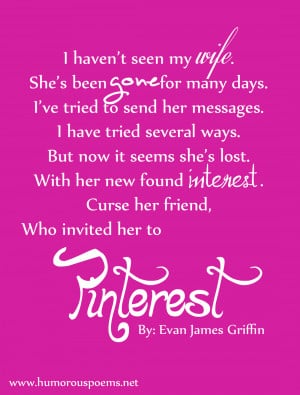 Humorous Poem #48 Pinterest Poem
