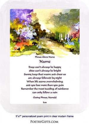 Inspirational Poem - Get Well, Divorce...