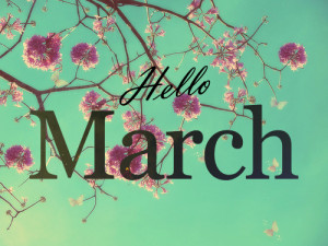 friday march 1 2013 hello march 2013