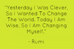 ... quotes-clothing.com/yesterday-clever-change-world-wise-changing-myself