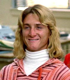 "Jeff Spicoli in ""Fast Times at Ridgemont High"""