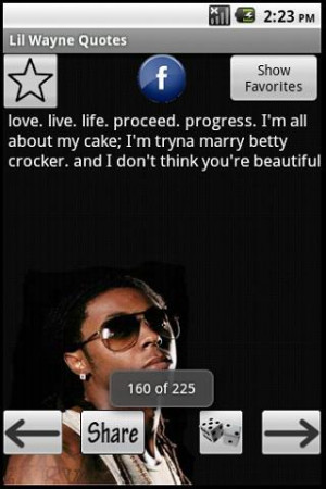 Lil Wayne Quotes - screenshot