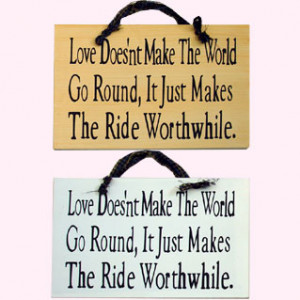 Item # 4614 - WOODEN PLAQUES SAYINGS ABOUT LOVE SIGNS 2 ASSORTED (11 ...