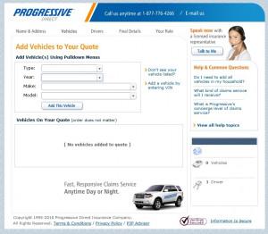 Insurance Quote Preview- Progressive Page 2