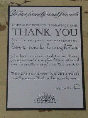 Thank You Quotes For Dinner Party QuotesGram