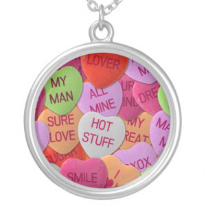 candy_hearts_with_sweet_sayings_necklaces ...
