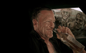 Michael rooker zombies art Wallpapers Pictures Photos Images