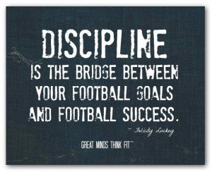 Popular Inspirational Football Quotes, Sport, Sayings, Discipline