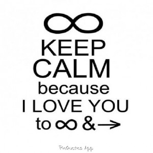 ... Love Quotes, To Infinity And Beyond Quotes, Infinity Love Quotes
