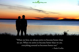 strive to become better than we are. When we strive to become better ...