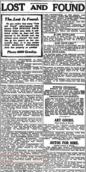 Evening Telegram 11/20/1918